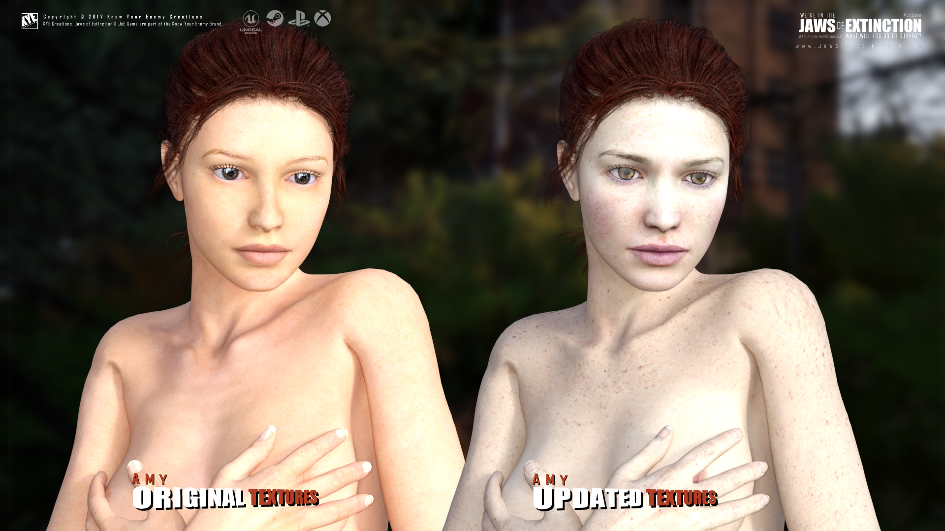 Amy - Texture Update