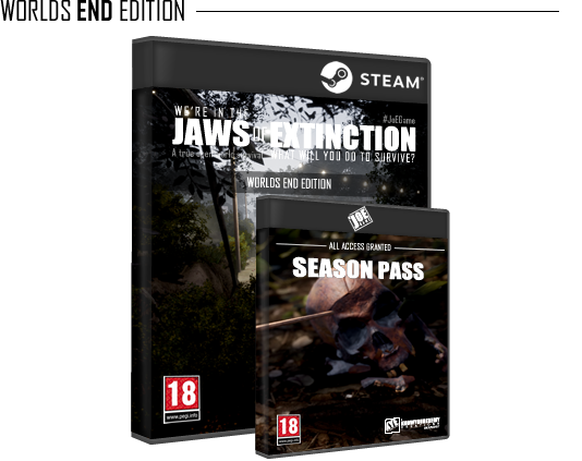 Sandbox survival game, rich story, open world - Jaws of Extinction